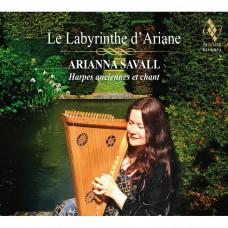 阿麗雅德妮的迷宮 阿里安娜.沙瓦爾 豎琴Arianna Savall / Le Labyrinthe d'Ariane