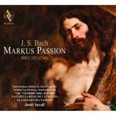 巴哈: 聖馬可受難曲 約第.沙瓦爾 指揮  加泰隆尼亞皇家合唱團Jordi Savall / J.S. Bach: Markus Passion BWV247