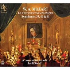 莫札特:第39.40.41號交響曲 約第.沙瓦爾 指揮 國家古樂合奏團Jordi Savall / Mozart - The Symphonic Testament-Symphonies Nos. 39, 40, 41