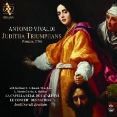 韋瓦第: 神劇(茱狄莎的勝利)全曲  沙瓦爾 指揮 國家古樂合奏團 加泰隆尼亞皇家合唱團 Jordi Savall / Vivaldi - Juditha Triumphans, RV 644