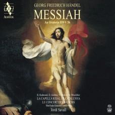 韓德爾: (彌賽亞)全曲 沙瓦爾 指揮 國家古樂合奏團 加泰隆尼亞皇家合唱團 Jordi Savall / Handel: The Messiah, HWV 56