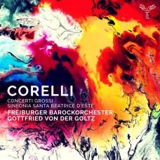 柯瑞里: 大協奏曲及交響曲 戈爾茲小提琴/指揮 佛萊堡巴洛克管弦樂團 Freiburger Barockorchester / Corelli: Concerti Grossi & Sinfonia to Santa Beatrice d'Este