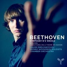 貝多芬: 第3號交響曲/布拉姆斯:海頓主題變奏曲 麥可森.葉梅里亞切夫 鋼琴Maxim Emelyanychev / Beethoven: Symphony No. 3 & Brahms: Variations on a Theme by Haydn
