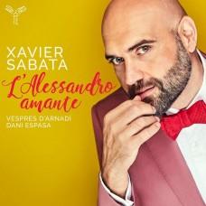 情人亞歷山大大帝(詠嘆調集)  沙巴達 假聲男高音Xavier Sabata / L'Alessandro amante