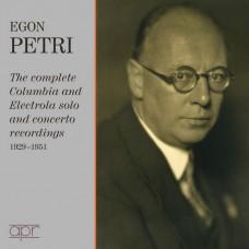 伊岡·佩特里:鋼琴演奏曲集 / Egon Petri / The Columbia & Electrola recordings 1928-1951