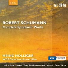 舒曼: 交響曲全集 霍利格 指揮 科隆西德廣播交響樂團 KolnHeinz Holliger / Schumann: Complete Symphonic Works