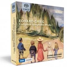 葛利格: 交響樂全集 艾文德·阿德蘭 指揮 科隆西德廣播交響樂團(SACD)WDR Sinfonieorchester, Eivind Aadland / Grieg: Complete Symphonic Works