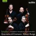 舒伯特:弦樂五重奏/弦樂四重奏(死與少女) 克雷莫納弦樂四重奏 艾克特.朗格 大提琴Quartetto di Cremona / Schubert: String Quintet & String Quartet 'Death and the Maiden'