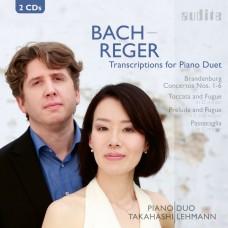 巴哈/雷格:鋼琴四手聯彈改編曲集  高橋 & 雷曼 鋼琴二重奏Lehmann & Takahashi / Bach, Reger: Transcriptions for Piano Duo