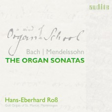 (2CD)巴哈/孟德爾頌: 管風琴奏鳴曲 艾伯哈德·羅斯 管風琴Hans-Eberhard Roß / Bach & Mendelssohn - The Organ Sonatas