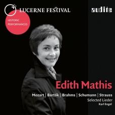 琉森音樂節歷史名演(14) 藝術歌曲演唱會 伊迪絲·瑪蒂絲 女高音 卡爾·恩格爾 鋼琴Lucerne Festival XIV Edith Mathis sings Mozart, Bartok, Brahms