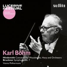 琉森音樂節歷史名演(16) 布魯克納: 第七號交響曲 貝姆 指揮 維也納愛樂管弦樂團Lucerne Festival (16) Karl Bohm / Hindemith: Concerto & Bruckner: Symphony No 7