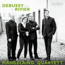 德布西/里維耶: 弦樂四重奏 曼德林四重奏Mandelring Quartet / Debussy & Rivier: String Quartets