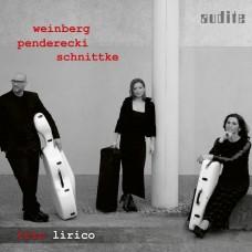 溫伯格/潘德雷茲基/施尼特凱:弦樂三重奏 里瑞科三重奏Trio Lirico / Weinberg, Penderecki & Schnittke: String Trios