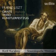 李斯特:(但丁)交響曲/塔索的悲哀與勝利 基理爾.卡拉畢茲 指揮 威瑪國家管弦樂團Staatskapelle Weimar, Kirill Karabits / Liszt: Dante Symphony, Kunstlerfestzug; Tasso