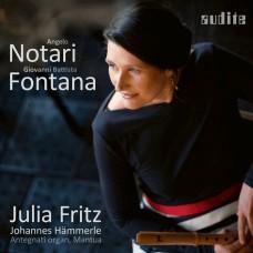 馮塔納/諾塔里(來自曼托瓦帕拉蒂納大教堂的早期巴洛克音樂) 茱莉亞.弗里茨 直笛Julia Fritz / Notari & Fontana - Early baroque music from the Basilica Palatina Mantova