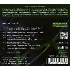 喬治.庫泰格: (場景)歌曲集  大衛.格里摩 小提琴 維特連科 女高音 尼克‧德‧荷魯特 低音大提琴David Grimal / Gyorgy Kurtag: Scenes