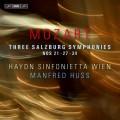莫札特:三首薩爾茲堡交響曲 (曼弗列德.哈斯 / 指揮維也納海頓小交響樂團) Mozart – Three Salzburg Symphonies