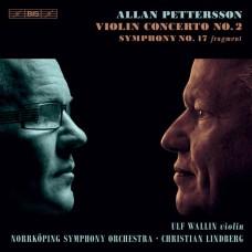 艾倫.彼得森: 小提琴協奏曲第二號/第十七號交響曲片段  巫魯夫.瓦林 小提琴 林柏格 指揮 (瑞典)諾科平交響樂團 Ulf Wallin / Pettersson - Violin Concert No. 2, Symphony No. 17