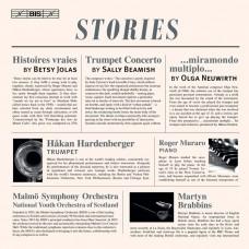 (故事) 蓓契‧鳩拉斯/畢米許小號作品集 哈康‧哈登伯格 小號 羅傑.穆拉洛鋼琴Hakan Hardenberger / Stories ·(Jolas / Beamish / Neuwirth)