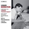 伯恩斯坦: 第一號交響曲(耶利米)/第二號交響曲(焦慮的年代) 林伯格 指揮 (挪威)北極愛樂管弦樂團Christian Lindberg, Arctic Philharmonic /  Bernstein – Symphonies Nos 1 & 2
