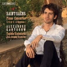 聖桑: 第3.4.5號鋼琴協奏曲 亞歷山大.康特洛夫 鋼琴 尚-賈克.康特洛夫 指揮 (芬蘭)塔皮歐拉小交響樂團 Alexandre Kantorow / Saint-Saens - Piano Concertos Nos 3-5