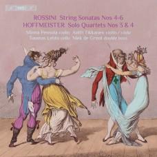 羅西尼&霍夫麥斯特: 低音大提琴的弦樂四重奏 第二集Rossini & Hoffmeister - Quartets with Double Bass, Vol. 2