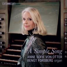 一首簡單的歌(名音樂家歌曲選) 安.蘇菲.范歐塔 次女高音Anne Sofie von Otter – A Simple Song