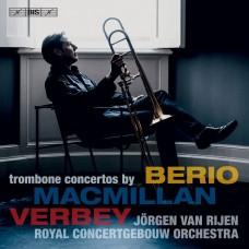 麥克米蘭/費爾貝/貝里歐 長號協奏曲 尤根.范.雷彥 長號Jorgen van Rijen / MacMillan, Verbey & Berio: Trombone Concertos