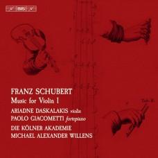 舒伯特: 小提琴音樂第1集 達絲卡拉奇絲 小提琴 吉亞康梅堤 鋼琴Ariadne Daskalakis / Schubert – Music for Violin I