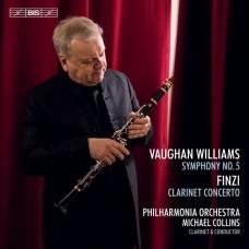 佛漢.威廉士:第五號交響曲/芬濟:豎笛協奏曲 麥可.柯林斯 豎笛Michael Collins plays and conducts Vaughan Williams and Finzi