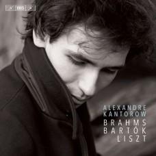 布拉姆斯/巴爾托克/李斯特鋼琴作品 亞歷山大.康特洛夫 鋼琴Alexandre Kantorow plays Brahms, Bartok & Liszt