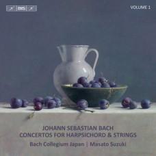 巴哈:大鍵琴協奏曲集,第一集 鈴木優人 指揮/大鍵琴 日本巴哈合奏團Masato Suzuki / Bach – Harpsichord Concertos, Vol. 1
