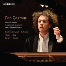 海頓/貝多芬/舒伯特/巴爾托克:鋼琴曲集 坎.卡默 鋼琴 2018年日本濱松鋼琴比賽冠軍Can Cakmur / Beethoven / Schubert / Haydn / Say  / Hamamatsu Internatoinal Piano Competition 2018 1st prize