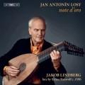 安東尼羅西:六首組曲/夏康舞曲/小步舞曲 雅克伯.林柏格 魯特琴Jakob Lindberg / Jan Antonín Losy: note d'oro