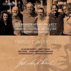 (3SACD) 布蘭登堡計畫 - 十二首協奏曲 湯瑪斯.道斯葛 指揮 瑞典室內管弦樂團Swedish Chamber Orchestra, Thomas Dausgaard / The Brandenburg Project - 12 Concertos
