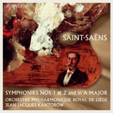 聖桑: A大調第一, 二號交響曲 尚-賈克.康特洛夫 指揮 比利時列日皇家愛樂Jean-Jacques Kantorow / Saint-Saens: Symphonies Nos 1 & 2