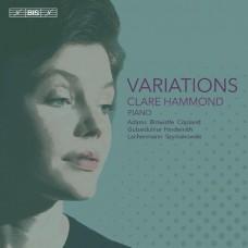 變奏曲 克萊兒.哈蒙德 鋼琴Clare Hammond / Variations