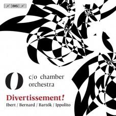 嬉遊曲!(室內樂作品集) 柏林c/o室內樂團c/o chamber orchestra / Divertissement! - Ibert / Bernard / Bartok / Ippolito
