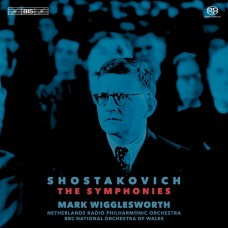 (10SACD)蕭士塔柯維契:交響曲全集 威格斯沃斯 指揮 荷蘭廣播愛樂管弦樂團/威爾斯BBC國家管弦樂團Mark Wigglesworth / Shostakovich: The Fifteen Symphonies