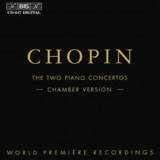 Chopin:Piano Concertos (Chamber Version)-Fumiko Shiraga蕭邦:兩首鋼琴協奏曲(室內樂版)