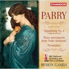 帕瑞 : 第四號交響曲 魯蒙.甘巴 指揮 BBC威爾斯國家管弦樂團/BBC威爾斯國家仕女合唱團Rumon Gamba / Parry: Symphony No. 4, Suite Moderne etc