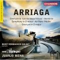 亞瑞格: 交響曲/清唱劇 璜侯.梅納 指揮 BBC愛樂管弦樂團 Juanjo Mena / Arriaga: Symphony & Herminie