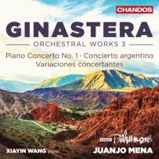 希那斯特拉: 管弦作品第3集 王夏音 鋼琴 璜侯.梅納 指揮Xiayin Wang / Ginastera: Orchestral Works, Vol. 3