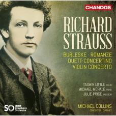 理查.史特勞斯: 協奏曲作品集 麥可.柯林斯 單簧管/指揮 BBC交響樂團Michael Collins / R. Strauss: Concertante Works