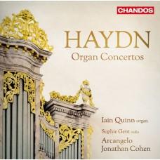海頓: 管風琴協奏曲集  伊恩·奎因 管風琴 喬納森.柯恩 指揮 阿爾坎傑羅合奏團Iain Quinn / Haydn: Organ Concertos