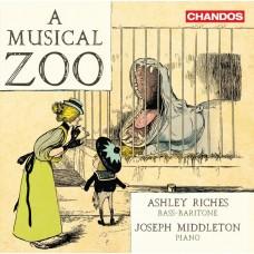 音樂動物園(舒伯特/巴伯/蕭士塔高維契等) 阿什利.里奇斯 低男中音 喬瑟夫.米道頓 鋼琴Ashley Riches / A Musical Zoo