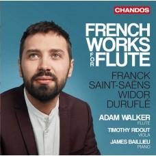 法國長笛作品集 亞當·沃克 長笛 詹姆斯‧貝里歐 鋼琴Adam Walker / French Works for Flute