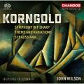 康果爾德: 升F大調交響曲/主題與變奏  威爾森 指揮 倫敦市立交響樂團 Sinfonia of London, John Wilson / Korngold: Symphony in F sharp