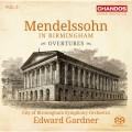 孟德爾頌在伯明罕第五集(序曲集) 愛德華.加德納 指揮 伯明罕市立交響樂團Edward Gardner / Mendelssohn in Birmingham, Vol. 5 - Overtures
